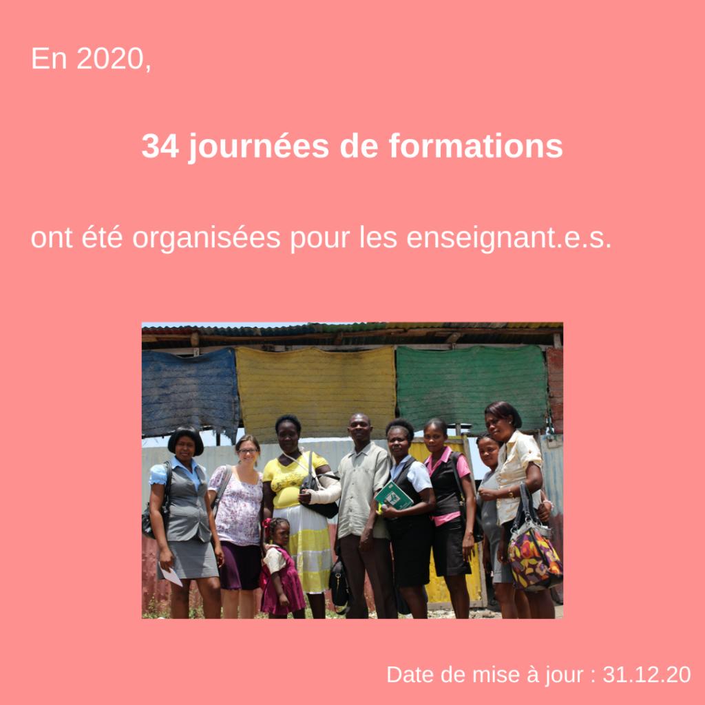Formation d'enseignants pour une éducation adaptée à la psychologie de l'enfant et de l'adolescent en Haïti 31