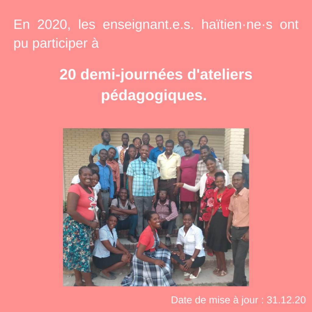Formation d'enseignants pour une éducation adaptée à la psychologie de l'enfant et de l'adolescent en Haïti 32
