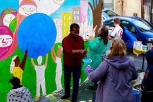 Rencontre avec Michael Hammond de Muralismo