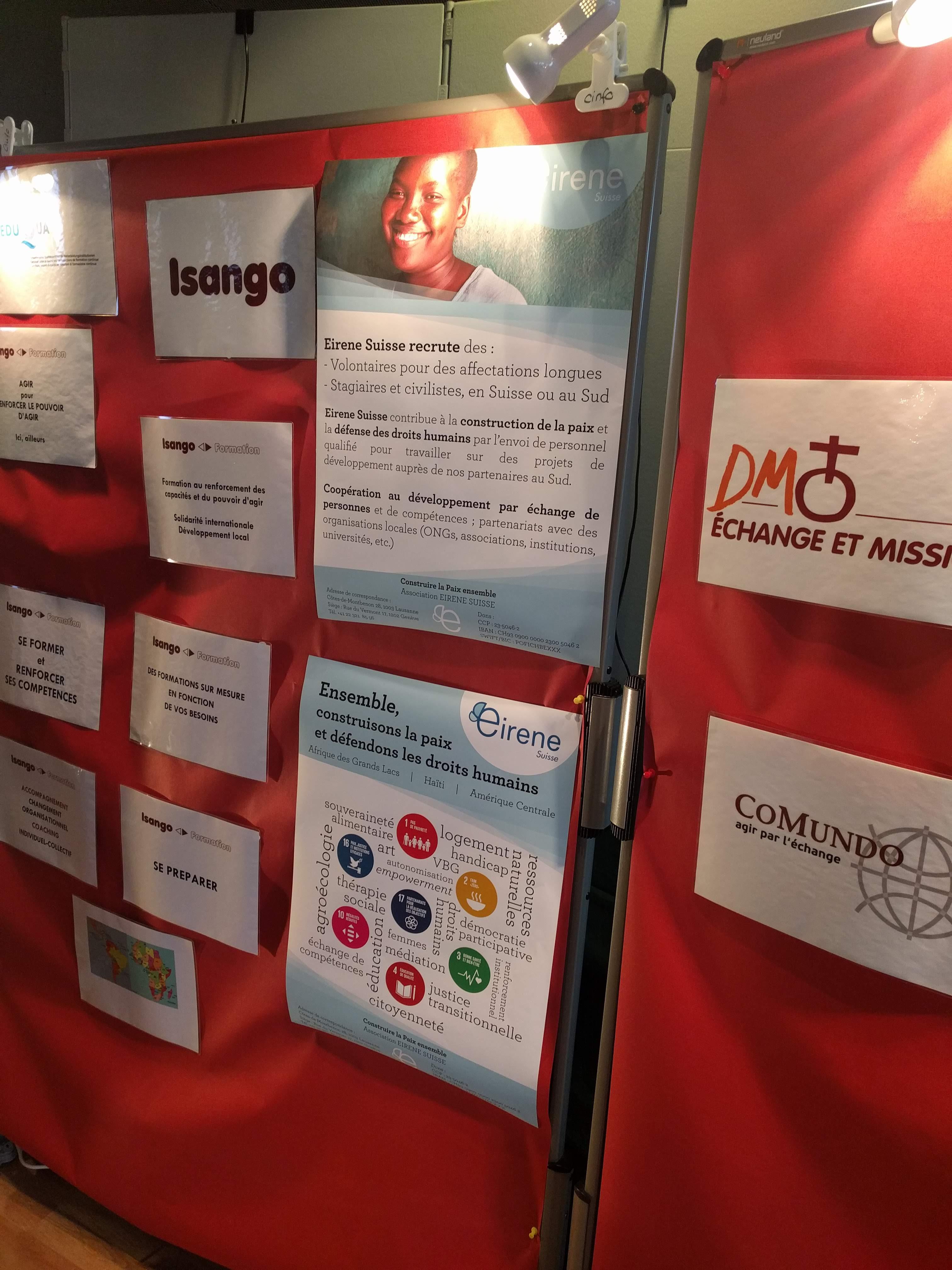 Stand au Forum CINFO 2018 3