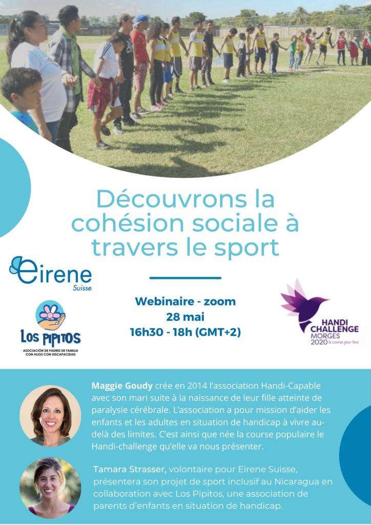 Webinaire : Découvrons la cohésion sociale à travers le sport ! 9