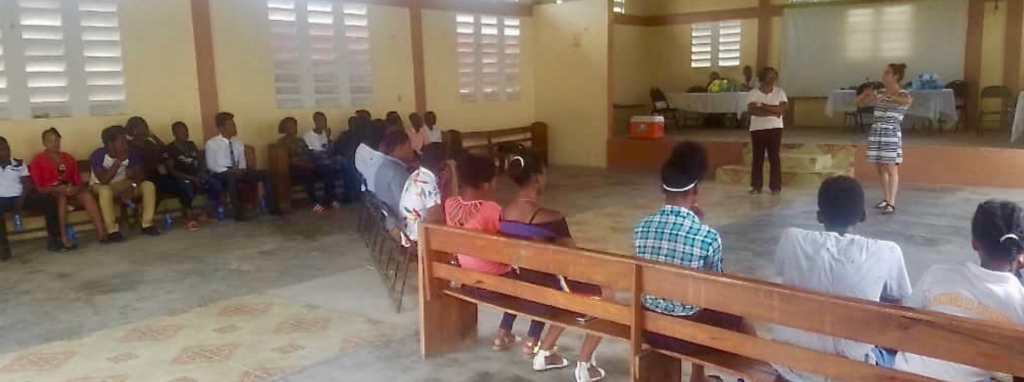 Les activités du projet Jeunes et participation citoyenneen Haïti continuent àCavaillon!