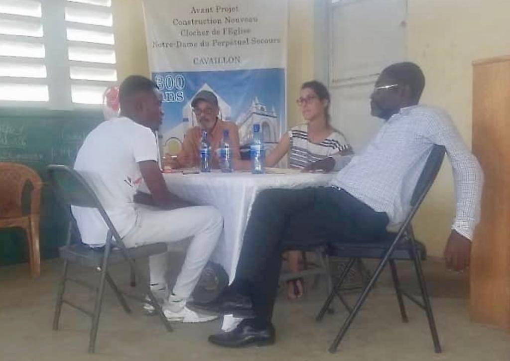 Les activités du projet Jeunes et participation citoyenneen Haïti continuent àCavaillon! 2