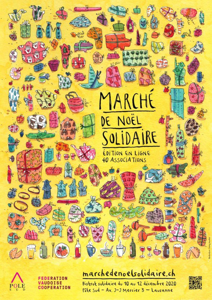 Eirene Suisse participe au Marché de Noël Solidaire virtuel