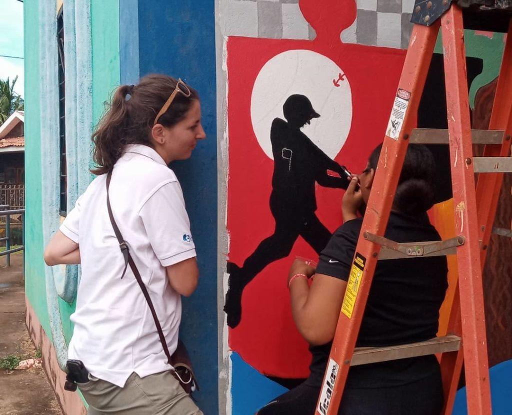 Nicaragua : L'art et les jeunes socialement dévalorisé.e.s.  🎨 1