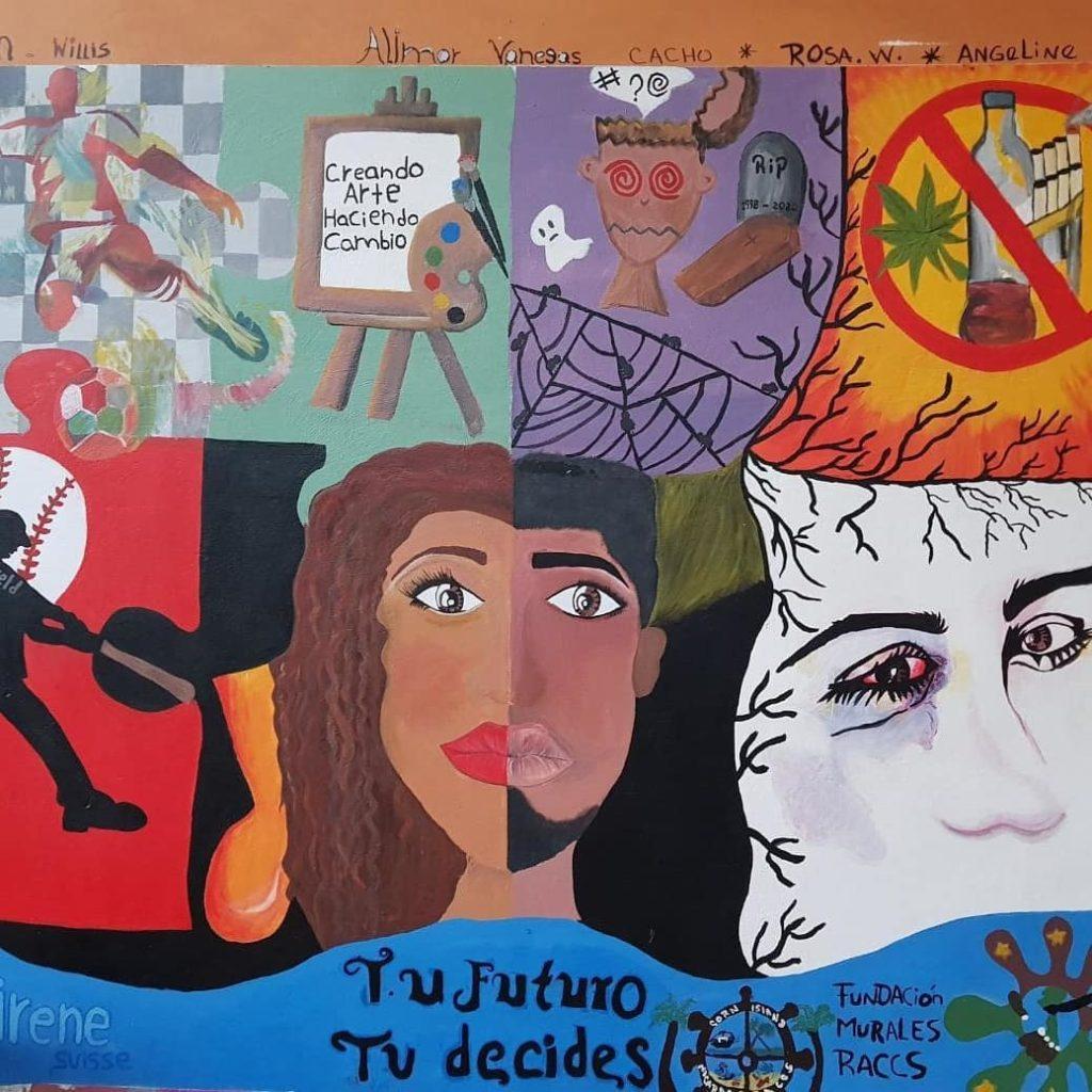 Nicaragua : L'art et les jeunes socialement dévalorisé.e.s.  🎨 2
