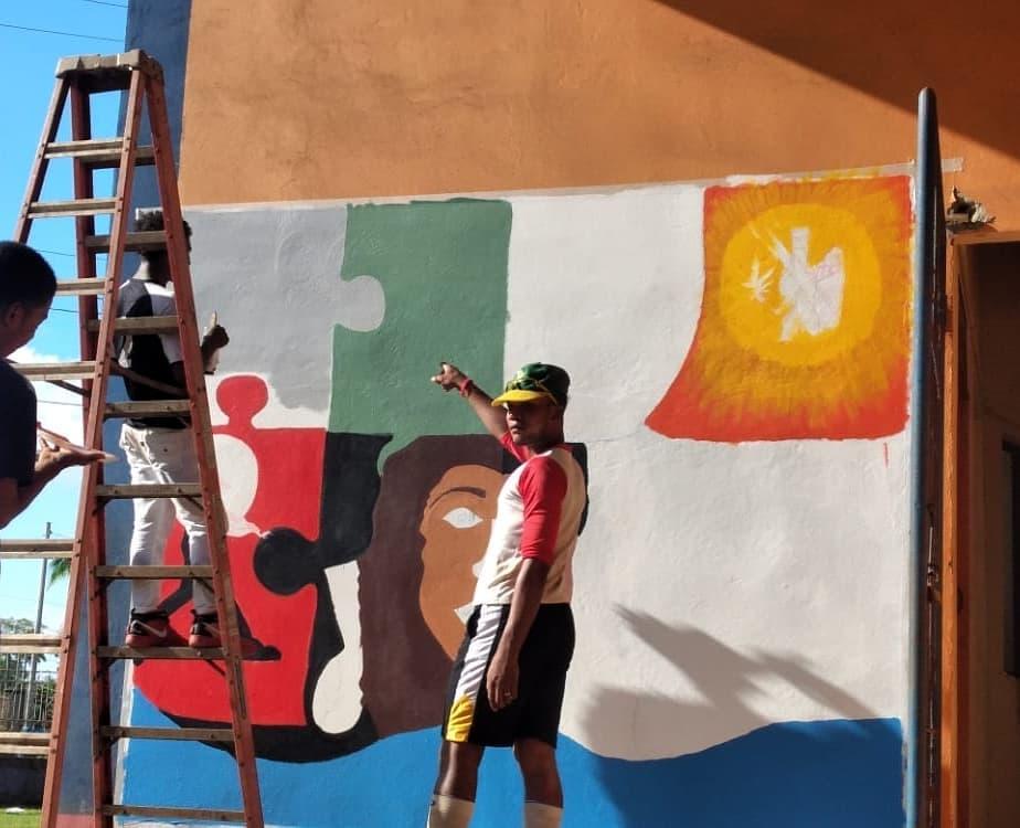 Nicaragua : L'art et les jeunes socialement dévalorisé.e.s.  🎨