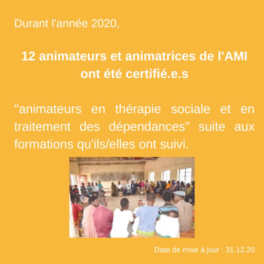 Activités et réalisations 2020 - AMI