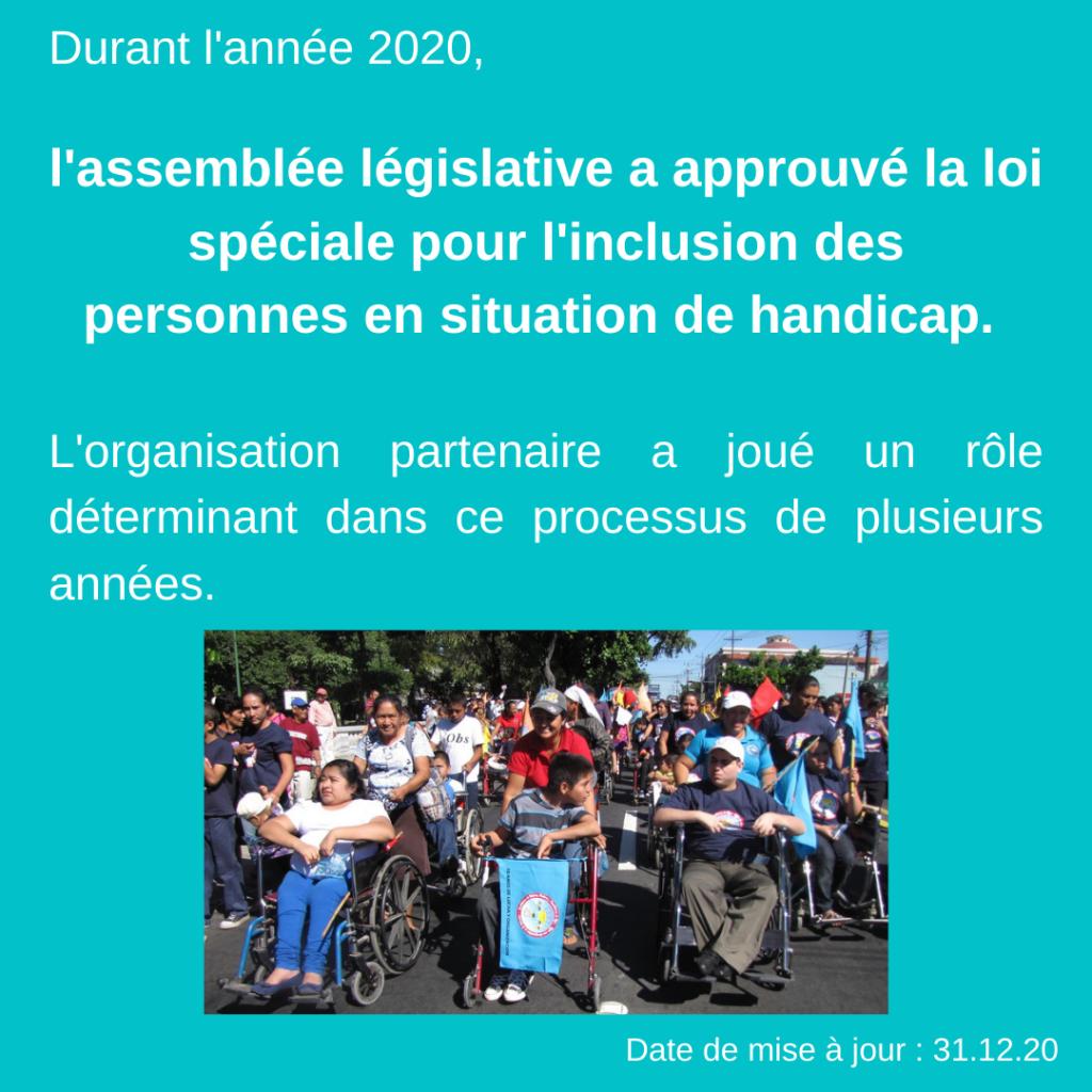 Activités et réalisations 2020 – Los Agelitos 7