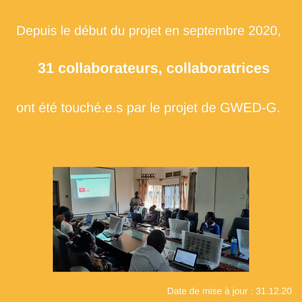 Activités et réalisations 2020 – GWED-G 5